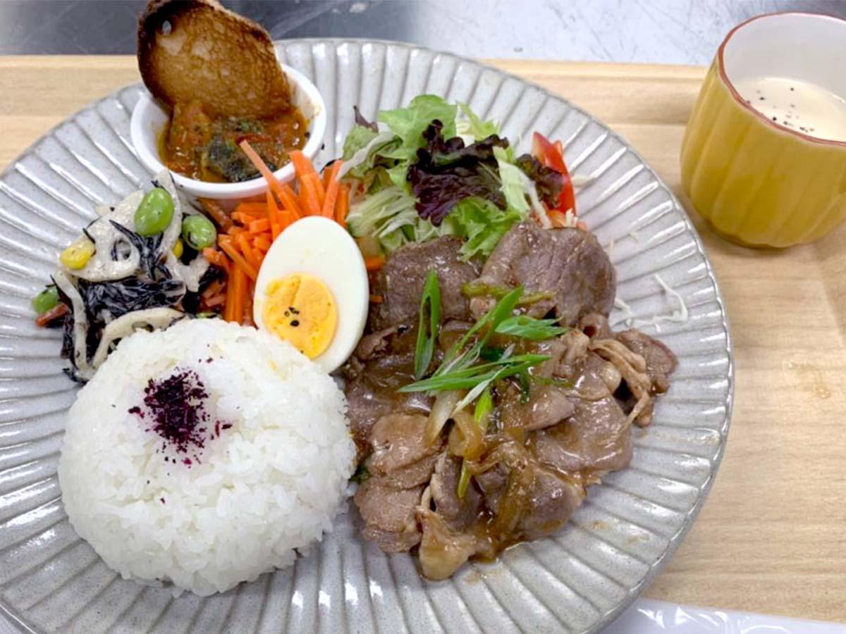 選べるランチプレート(生姜焼き)