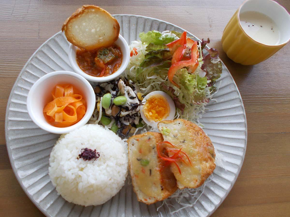 選べるランチプレート(豆腐ハンバーグ)